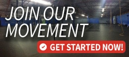 Join our movement sign for CrossFit gym